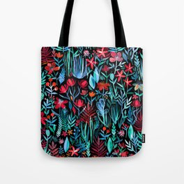 Though I Walk at Night Tote Bag