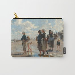 Setting Out to Fish Oil Painting by John Singer Sargent Carry-All Pouch