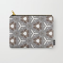 Zebra inspired digital print Carry-All Pouch