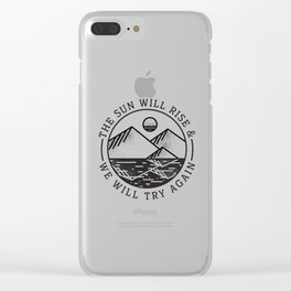 truce II Clear iPhone Case