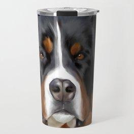 BERNESE MOUNTAIN DOG ART Travel Mug