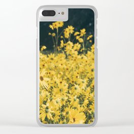Daisies For Days Clear iPhone Case