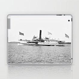 Ticonderoga Steamer on Lake Champlain Laptop & iPad Skin