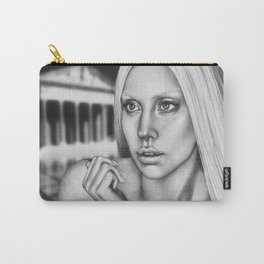VERSACE - drawing by Davy Oldenburg Carry-All Pouch