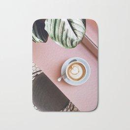 pink latte Bath Mat