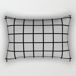 grey square Rectangular Pillow