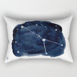 Zodiac Star Constellation - Cancer Rectangular Pillow
