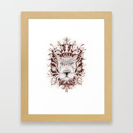 Spirit Lion Framed Art Print