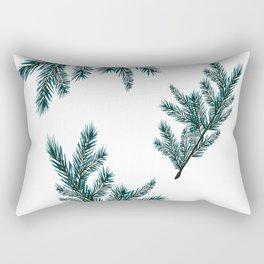 Peaceful Fern Rectangular Pillow
