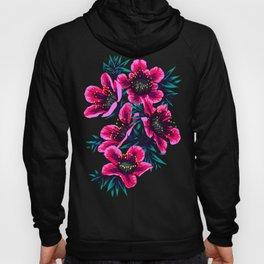 Manuka Floral Print Hoody