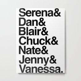Serena Metal Print
