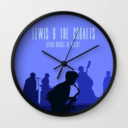 Lewis & the Cobalts Wall Clock