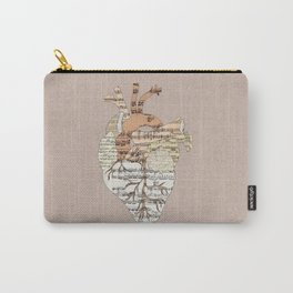 Sound Of My Heart Carry-All Pouch
