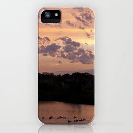 Babylon, New York Sunset iPhone Case