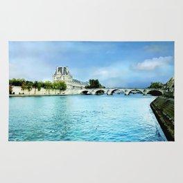 Seine River - Paris France Rug
