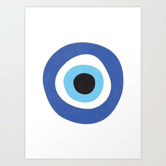 Evi Eye Symbol Art Print By Inogitna Society6