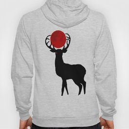 Nightmare Stag and the Blood Moon Hoody