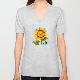 Sunflower 1 Unisex V-Neck