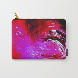 Abstract Red Storm by Robert S. Lee Carry-All Pouch