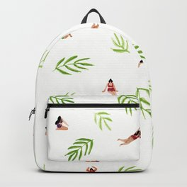 Swimming with the Palms Backpack