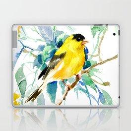American Goldfinch Laptop & iPad Skin