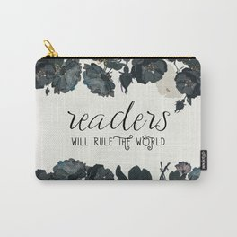 Readers Rule The World Carry-All Pouch