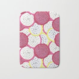 Exotic Dragonfruit Bath Mat