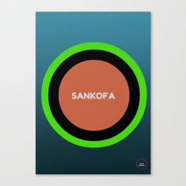 Sankofa Canvas Print