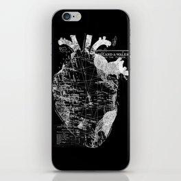 Heart Wanderlust iPhone Skin