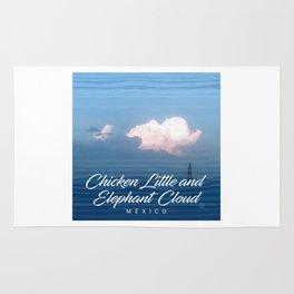 Chicken Elephant Cloud Rug