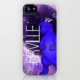 Orville the Space Beast iPhone Case