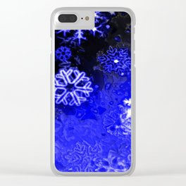 Blizzard Clear iPhone Case