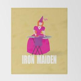 IRON MAIDEN Throw Blanket