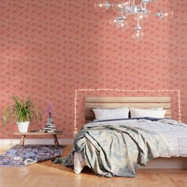 Peach Emily Claire Wallpaper