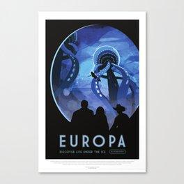 Europa Canvas Print