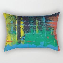 Color Chrome - Line graphic Rectangular Pillow