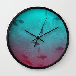 Reef Watch Wall Clock