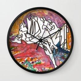 Feminine Touch Wall Clock