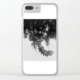 Leaf Curl Clear iPhone Case