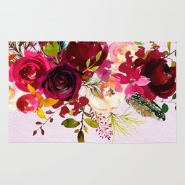 Flowers bouquet #38 Rug