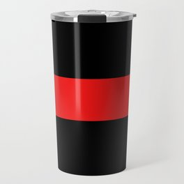 Firefighter: The Thin Red Line Travel Mug