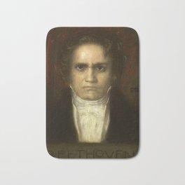 Ludwig van Beethoven (1770-1827) by Franz von Stuck (1863 - 1928)(2) Bath Mat