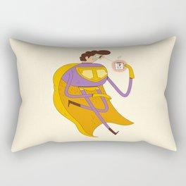 Man of Tea Rectangular Pillow