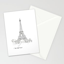 The Eiffel Tower, Paris Stationery Cards