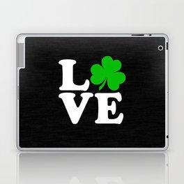 Love with Irish shamrock Laptop & iPad Skin