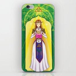 Princess Zelda - Triforce of Wisdom iPhone Skin