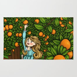 The Orange Grove Rug