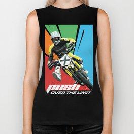 Motocross - Push Over The Limit Biker Tank
