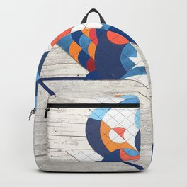 Sao Paulo urban wall Backpack