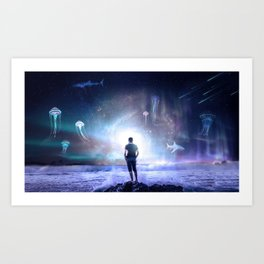 matte painting art prints society6